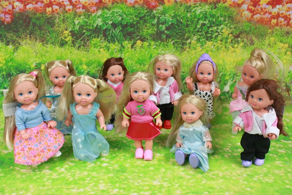 2019Popular Fashion Dolls Super Cute Small Kelly Dolls For Barbi Sister, Toys For Girl