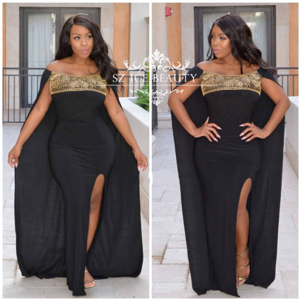 black and gold dress plus size gallery - dresses design ideas