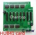 Cartão de controle de LED Cartão de Conversão Adapter Hub41 com 8 * porta hub41 incluído Para display LED tela/cartão HUB41A placa