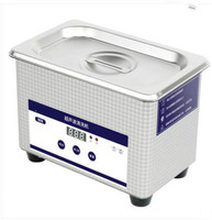 800ML Stainless Steel Ultrasonic Cleaners Digital Ultrasound Wave Jewelry Watch Washing Machine Glasses Bath Cleaning
