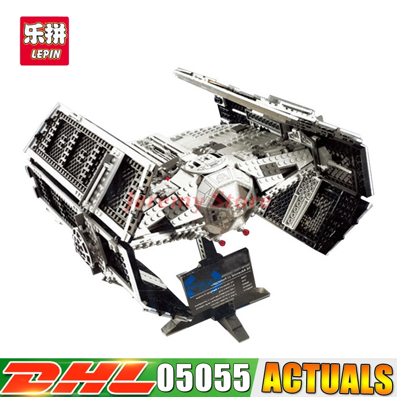 20188 Lepin 05055 Star Series Wars The Rogue One USC Vader TIE Advanced Fighter Set 10175 Building Blocks Bricks DIY Toys lepin 05055 star series wars the rogue one usc vader tie advanced fighter set 10175 building blocks bricks educational diy toys