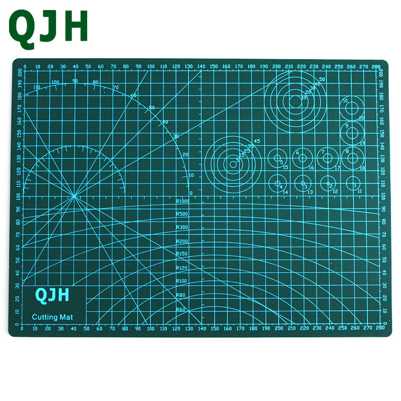 A4 Pvc Cutting Mat DIY Leather Tools Patchwork Cowhide Double Faced Cutting Plate Double-sided Fabric Paper Craft Cutting Pad