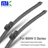 Mikkuppa Front Wiper Blades For BMW 5 Series E39/E60/E61/F07/F10/F11 1995-2018 Windshield Wipers Auto Car Accessories