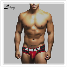 New Arrival  Men's Underwears Men cotton Briefs Shorts Mens U-convex Design Breif Underwear Male Sexy Briefs Free Shipping