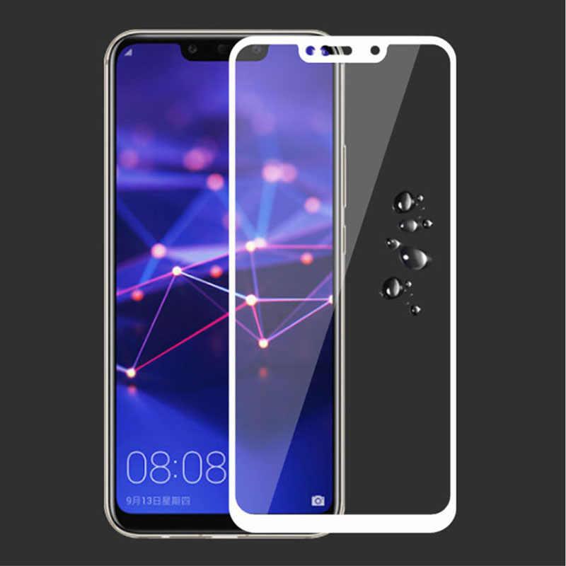 Bộ 2 Kính Cường Lực Cho Huawei Mate 20 Lite Case Full Bao Da Bảo Vệ Màn Hình Bảo Vệ An Toàn Đô Thị Tremp Ngày Làm Mờ 20 ánh sáng 6.3