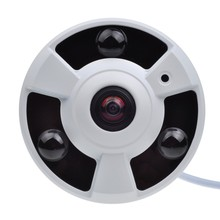 цены 1080P IP Camera (POE) Onvif Fisheye Panorama 5MP Lens IR Night Vision HD Security CCTV Camera 2MP 180 Degree View