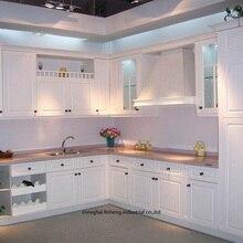 ПВХ/винил кухонный шкаф(LH-PV035
