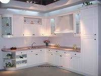 PVC/vinyl kitchen cabinet(LH PV035)