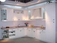 Pvc/винил кухонный шкаф (lh pv035)