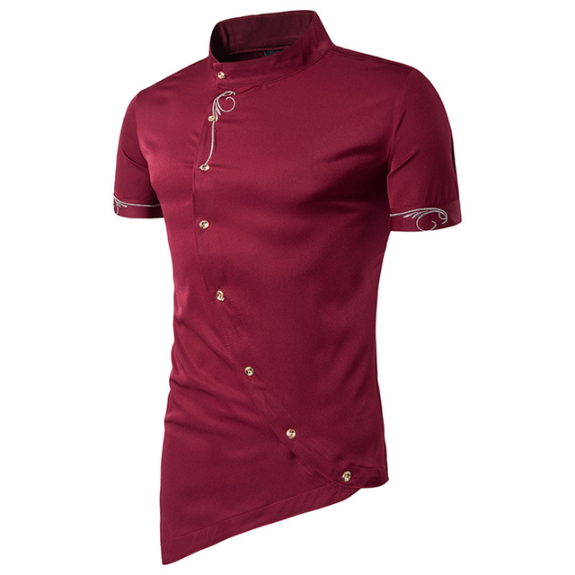 Men Polo Shirt Solid Short-Sleeve Slim Fit Polo Men's Embroidered Shirt Men  Polo Shirts