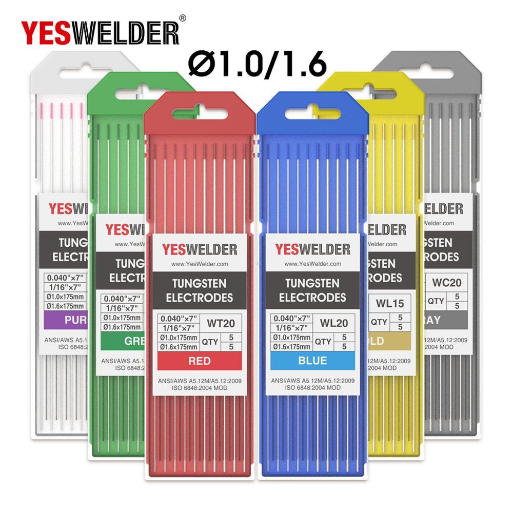 YESWELDER 175mm Tungsten Electrode Head Tungsten Needle/Wire for the TIG WSME Welding Machine