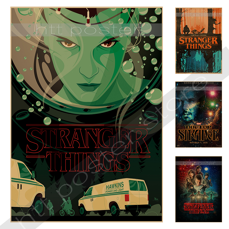 Buy stranger things propaganda terror for Poster decoratif