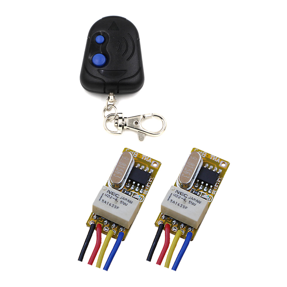 New DC3.5V 5V 6V 7V 9V 12V Mini Relay Wireless Switch Remote Control Power LED Lamp Controller Micro Receiver Transmitter System dc3v 3 7v 5v 6v 7v 9v 12v mini relay wireless switch remote control power led lamp controller micro receiver transmitter system