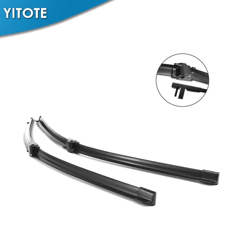 Yitote Wiper Blades untuk Mercedes Benz GLK Kelas X204 Cocok Bros Samping Lengan GLK 200 220 250 280 300 320 350 CDI 4 MATIC