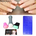 Nail Art Stamp Stamping Plates Manicure DIY Design Manicure Nails Beauty Tools + Stamper Card