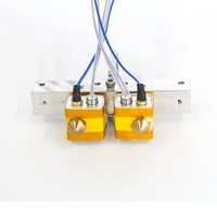 Flashforge собраны экструдер горячей конец комплект для Creator Pro 3D принтеры MK8 0,4 мм сопла 3D принтеры DIY аксессуары