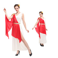 Ancient Greek mythology Goddess Sexy Costumes Woman Halloween Roman lady Queen Cosplay showing cloth Carnival Masquerade dress