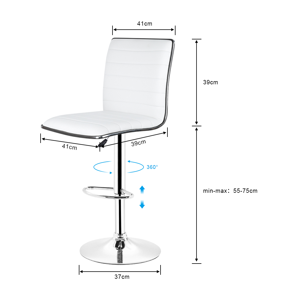 Bar Chairs Steady Home Front Desk Chair Bar Stool Front-office Beauty Stool Chair Lift High Chairs The Butterfly Chair Furniture