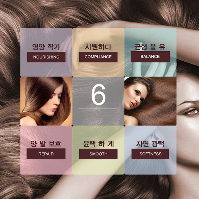 Herbal Horse Oil Without Silicone Anti Hair Loss Shampoo Improve Frizz Repair Damage
