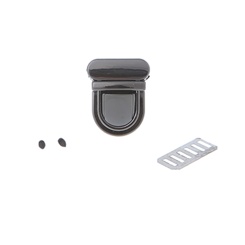 Durable Buckle Twist Lock Hardware For Bag Shape Handbag DIY Turn Lock Bag Clasp