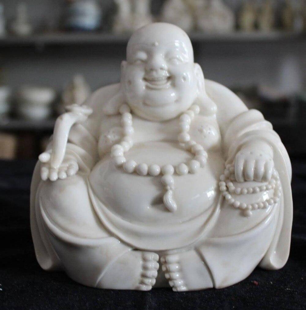 online buy wholesale ceramic laughing buddha from china ceramic  - ceramic crafts china dehua porcelain wealth ruyi happy laugh maitreyabuddha bead statue (china