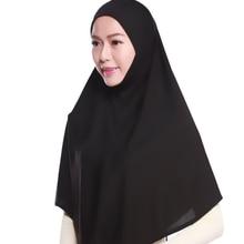 Модные прозрачные белье конопли one piece underscarf больший размер хиджаб никаб мусульманских головные уборы Малайзия хиджаб