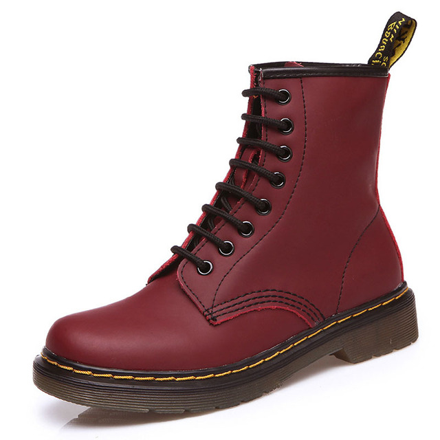 Women's Leather Boots - 6 Colors 2