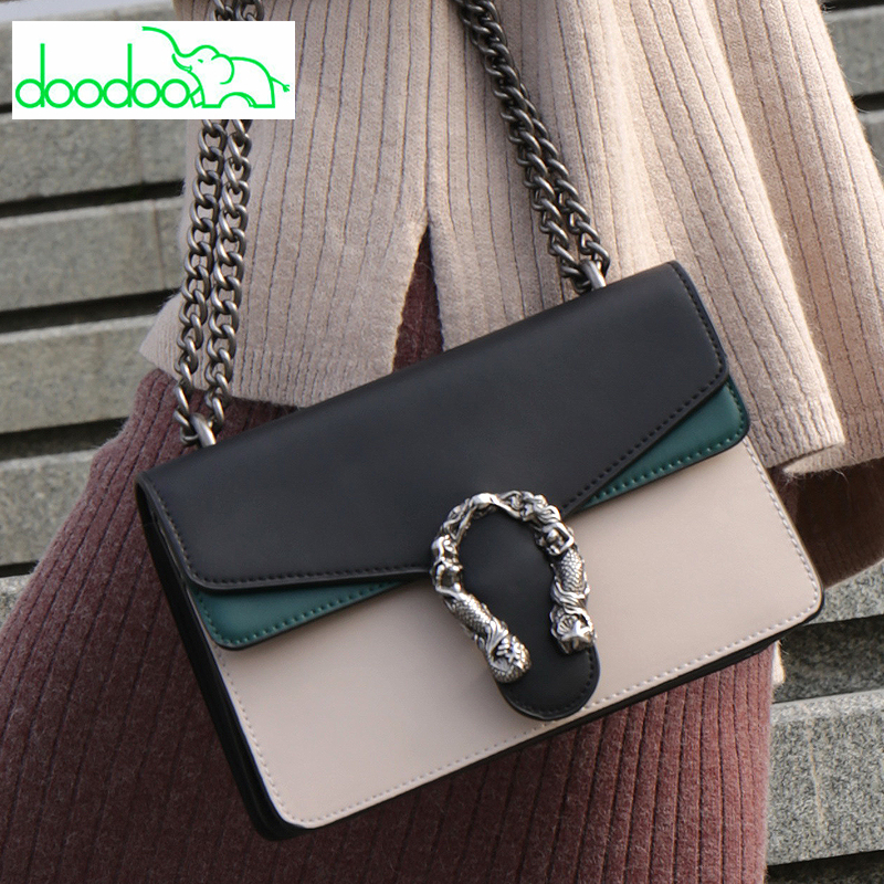 Fashion Lady Patchwork Chain Shoulder Bag Casual Fashion Crossbody Bag for Women High Quality Designer Purses and Handbags Louis high quality women s handbags fashion manual violin bag women purses unilateral oblique bag support drop shipping