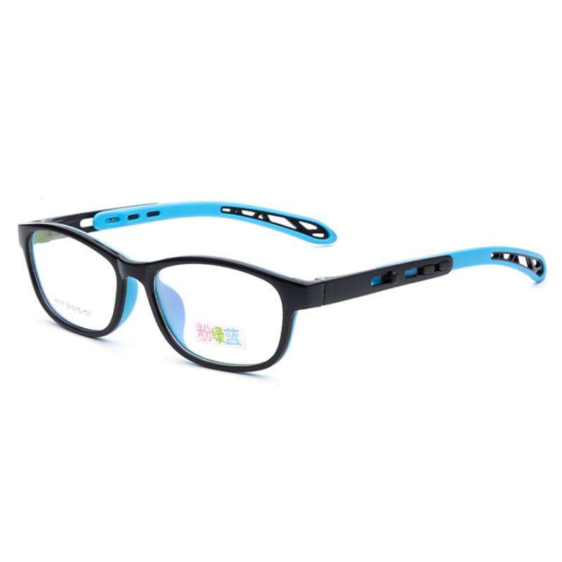 Optical New Children 39 s Glasses Ultra light Flexible TR90 Silica Gel Comfortable Safe Full Rim Kids Eyeglass Frames 017 in Men 39 s Eyewear Frames from Apparel Accessories