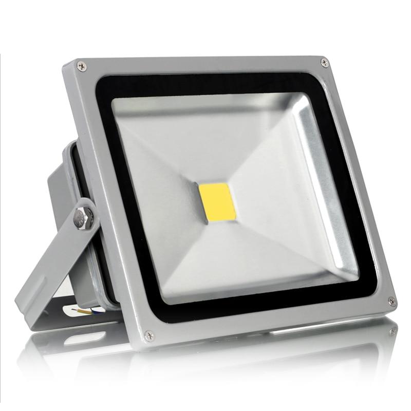 AC85-265V высокое Мощность 50 Вт светодиодный прожектор с Epistar 100-110 lm/W IP65 водонепроницаемый наружного освещения