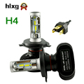hlxg 1 Set New Arrival H4 Led Headlight High Low Beam 50W 8000LM Fog Light Kit Xenon Lamp Replacement Super Bright Auto Car Bulb