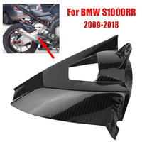 S1000RR Carbon Fiber Motorcycle Rear Wheel Fender Cover Mudgaurds Protection Fairing Accessories For BMW S1000RR 2009 2018