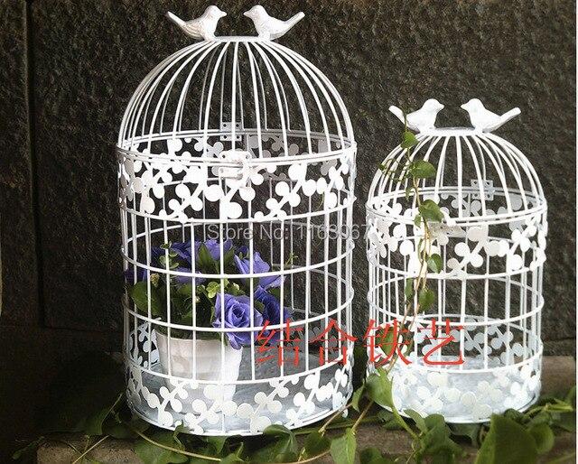 Metall Schmiedeeisen Vogelkafig Dekoration Dekorative Kafige Fenster