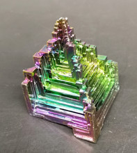 70g Beautiful Bismuth Crystals Bismuth Metal crystal Stones and crystals from china Free shipping(China)