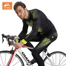 VEOBIKE Professional Cycling Jersey Long Sleeve Shirts Quick Dry Bicycle Clothing MTB Bike Clothing Maillot Ropa Ciclismo