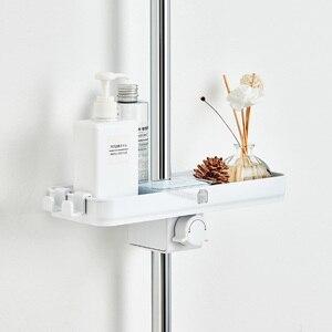 Image 5 - Youpin Dabai Portable Bathroom Showers Storage Rack Towel Hanging Shelf Hanging Storage Rack DIY Organization With Hook
