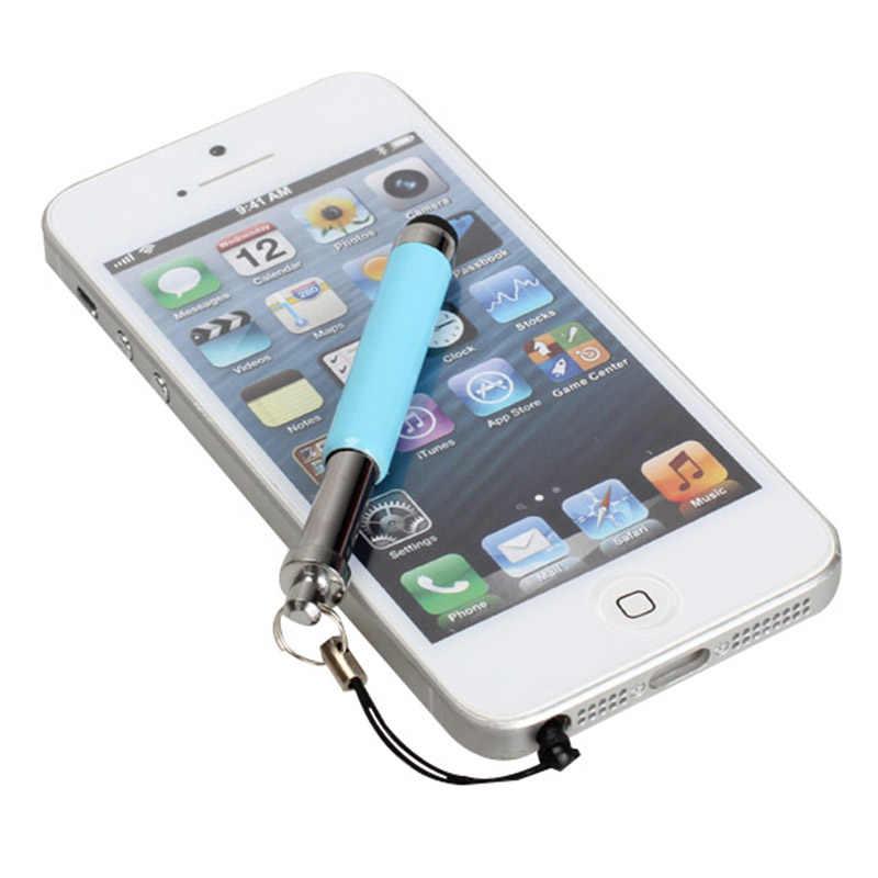 Popular lápiz táctil de pantalla retráctil para iPhone 3 4 4S 5 iPod Touch iPad 88 DJA99