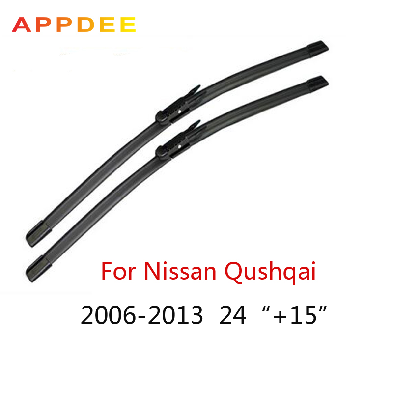 Appdee wipers for Nissan Qashqai 24