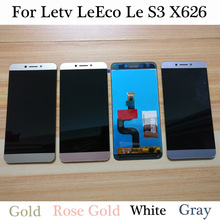 100% High Quality 5.5 inch For Letv LeEco Le S3 X626 LCD Display Touch Screen Digitizer Assembly Replacement Le S3 X622