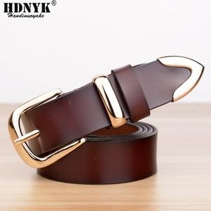 Image 3 - Real Cowskin Leather Fashion Designer Belt Women Brands Belt 2019 Hot Women Candy Color Strap Belts