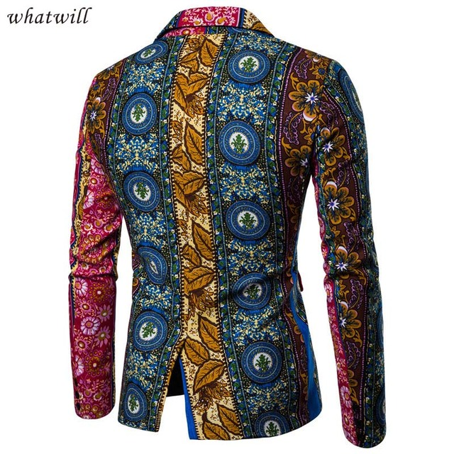 hip hop african clothes 3d printed suit blazer mens fashion african dresses hip hop africa clothing dashiki robe africaine