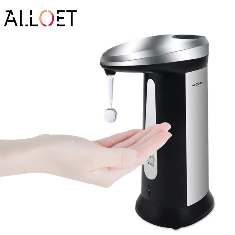 400ml Automatic Liquid Soap Dispenser Smart Sensor Touchless ABS Electroplated Sanitizer Dispensador for Kitchen Bathroom400ml Automatic Liquid Soap Dispenser Smart Sensor Touchless ABS Electroplated Sanitizer Dispensador for Kitchen Bathroom