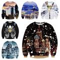 High-quality boys spring and autumn baseball clothing 3D personalized prints sweater trend hip-hop clothing 12-18 years old
