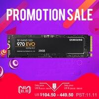 Samsung 970 EVO 250 ГБ 500 ГБ 1 ТБ NVMe PCIe M.2 2280 SSD