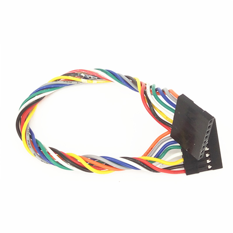 50pcs/lot 8P Double Head DuPont Line Length 20CM Jumper Wire Spacing 2.54mm For Arduino