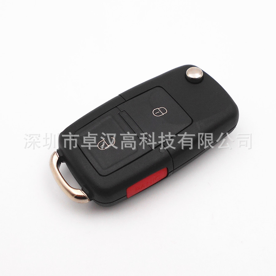 For Volkswagen VW California Passat CC Instead of Car Key Original Factory High Quality 2 + 1 Buttons Key Shell Key Case Change