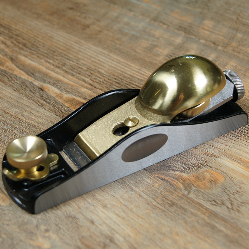 European metal Low angle 12 degrees(or High angle 20degrees)short plane,Copper Plates Woodworking Plane