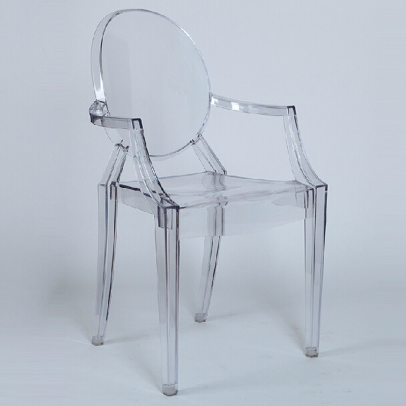 Online kaufen gro handel stuhl transparent aus china stuhl for Sillas transparentes comedor