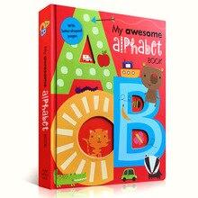 My Awesome алфавитная книга ABC оригинальные английские настольные книги для детей, Обучающие книги с буквой В Форме 56 страниц