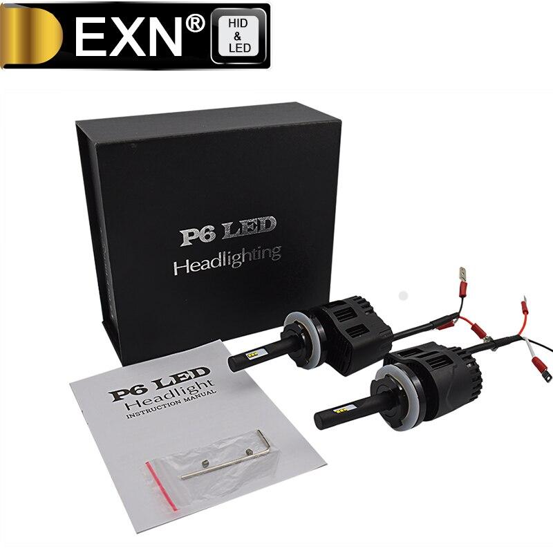 P6 LED Headlight Bulb H15 Adjustable Focus Length Conversion